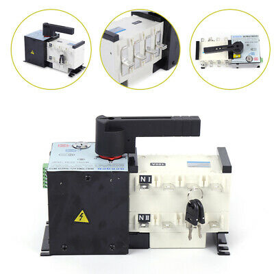 Automatic Dual Power Transfer Switch 100a4p F Generator Changeover Switch Fast