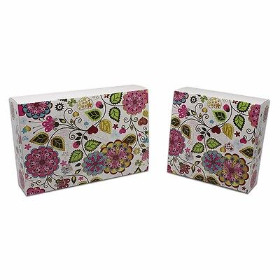 Foldable Kraft Paper Gift Boxes Recyclable Eco-friendly Wedding Party Favor Pack