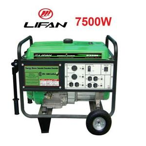 NEW LIFAN 7500W GAS GENERATOR ES8250E-CSA 192396421 ELECTRIC START ENERGY STORM