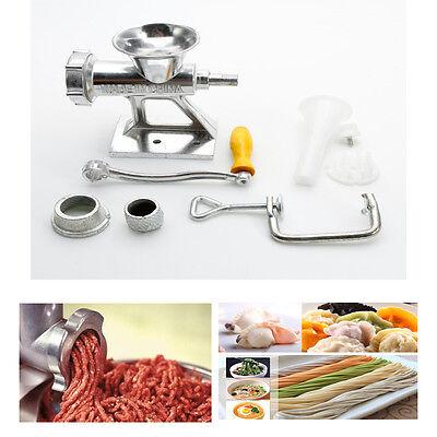 Heavy Duty Hand Crank Mincer Hand Meat Grinder Sausage Filler Kitchen Tool New