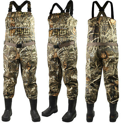 Realtree Max Breathable 1000g STOUT Waders (9)- RTMX-4