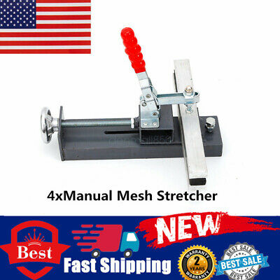 Hand Mesh Stretcher Silk Screen Printing Stretching Tools Pulling Clamps 30cm