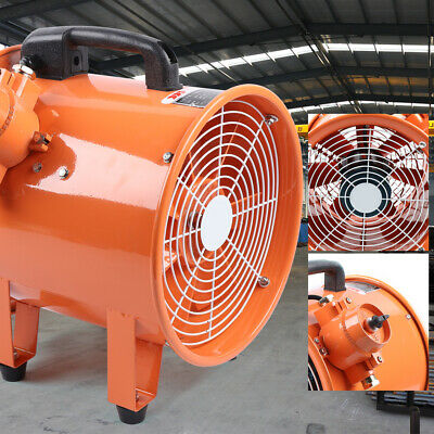 Explosion-proof Axial Flow Fan Exhaust Fan 12 Inch 300mm 2800rpm 110v Cool Air