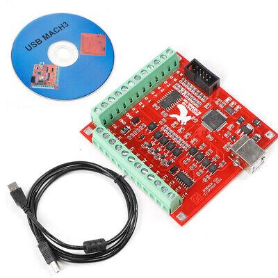 4 Axis 100khz Board Cnc Usb Controller Card Motorservo Driver Controller