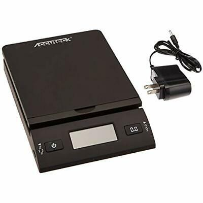 Accuteck Postal Scales 50 Lb All-in-one Black Digital Shipping Adapter Office