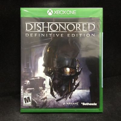 Dishonored: Definitive Edition (XB1 Xbox One) BRAND NEW & FREE SHIPPING