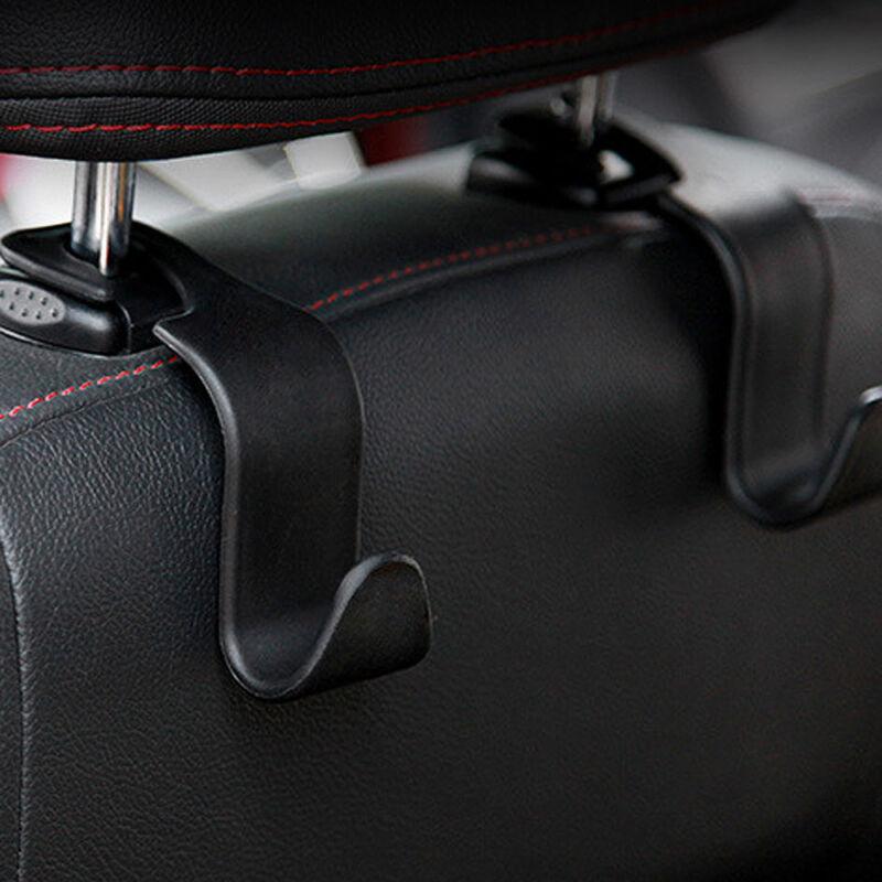 1x Black Car Purse Clip Seat Hook Bag Organizer Holder Accessories bag Hanger