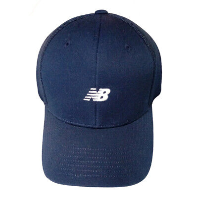 New Balance Korea, Ultra Quality, Half Mesh Pacific Blue Cap, Adjustable Size