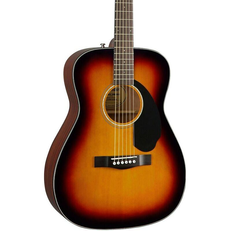 Fender CC-60S Concert Acoustic Guitar Sunburst 194744412516 OB