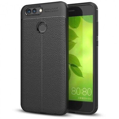 Huawei Nova 2 Leder Look Handy hülle von NALIA, Silikon Cover Case Schutz Dünn