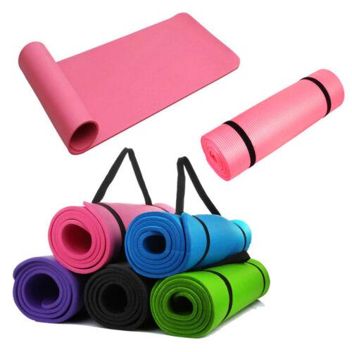 Yoga & Exercise Mat Thick Non-Slip Shock Absorbing Pad Worko