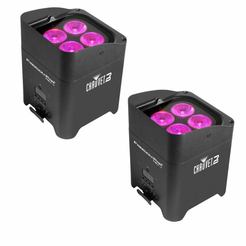Chauvet DJ Lighting Freedom Par Hex 4 2 Pack LED Lighting