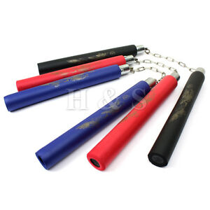 Dragon-Foam-Nunchaku-Nunchucks-Nunchuku-Nunchucku-Martial-Arts-Weapon-Bruce-Lee