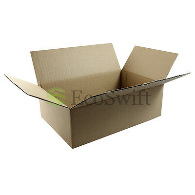 1-150 9x6x3 Ecoswift Cardboard Packing Mailing Shipping Corrugated Box Cartons