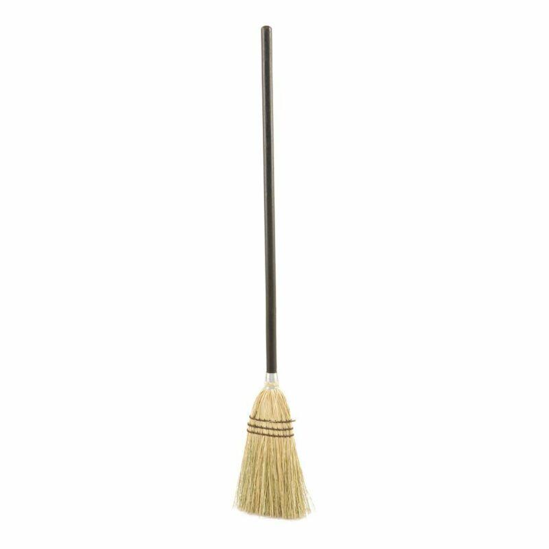 Rubbermaid FG637300 Brown 100% Corn Fill Lobby Broom