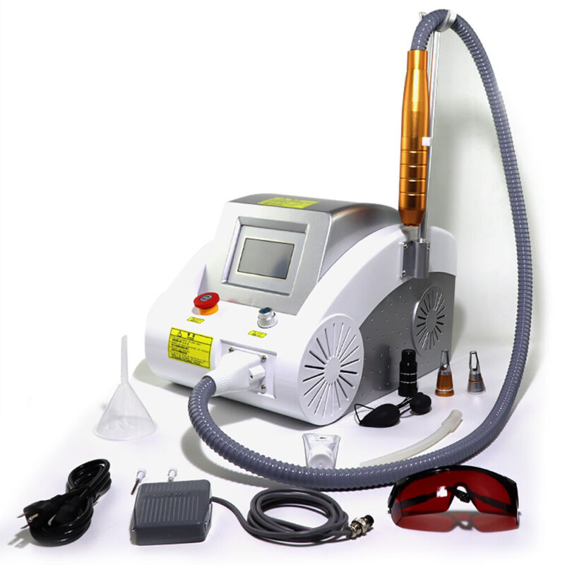 Nd YAG 1000W Body Tattoo Freckle Washer Pigment Picosecond Laser ML Removal US