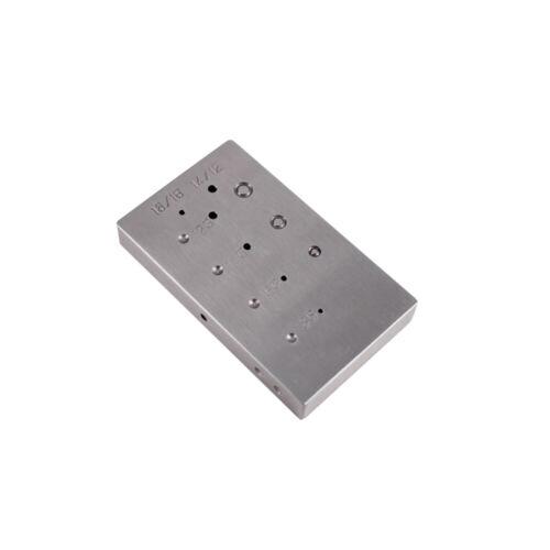 Steel Riveting Block - 25-045