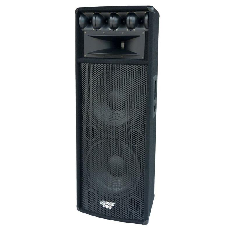 "NEW 1600w Dual 12"" DJ Loud-Speaker.Karaoke.Twelve inch.PA.8ohm.Live. Band Tops"