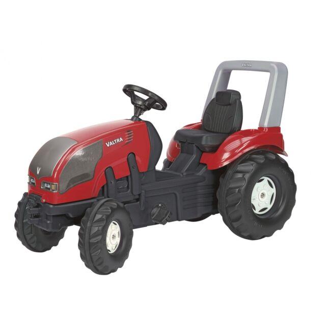 Rolly Toys Valtra Traktor ohne Frontlader Trettraktor mit Überrollbügel rot