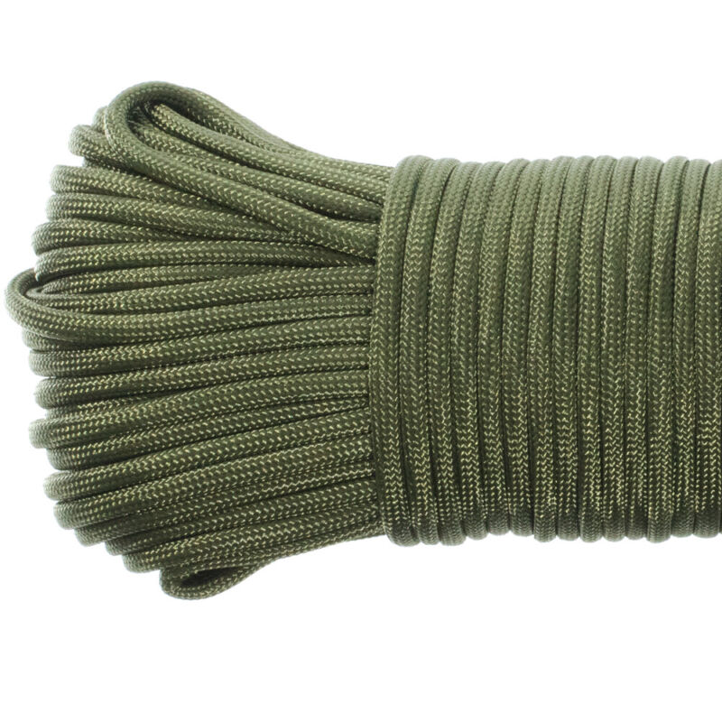 50FT Paracord Rope Type III 7 Strand 4mm Outdoor Survival Parachute Cord 550Lb