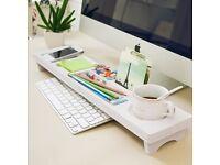 Wooden Keyboard and Desk Organiser
