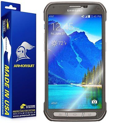 Armorsuit Militaryshield Samsung Galaxy S5 Active Screen Protector Case Friendly