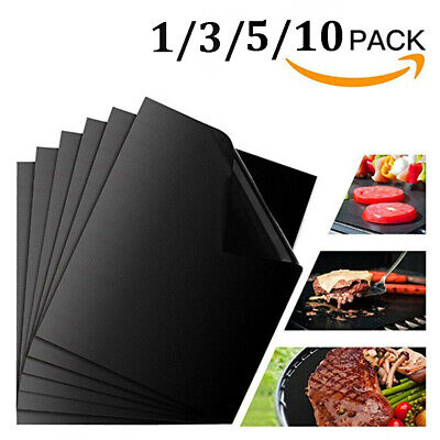BBQ Grill Mat non-stick Oven Liners Teflon Cooking Baking Reusable Sheet Pad Non-stick Sheet