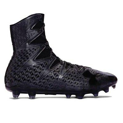 New Mens Under Armour Highlight LUX MC Lacrosse Cleats Black Size 11.5