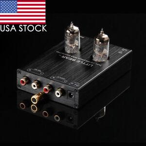 Nobsound Mini Vacuum Tube Phono RIAA MM Turntable Preamplifier HiFi Audio PreAmp