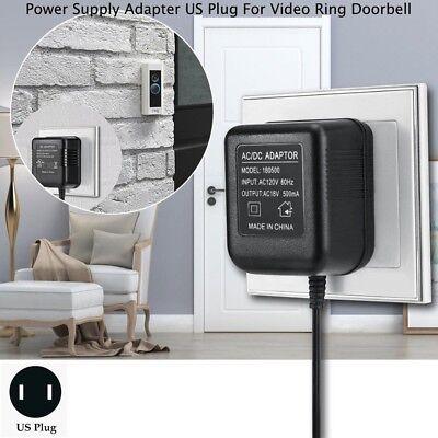 Power Supply Adapter Transformer US Plug For Video Ring Doorbell GW