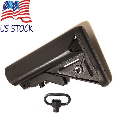Lmt Sopmod Rifle Stock Collapsible Buttstock Mil Spec W  Qd Mount Crane Devgru