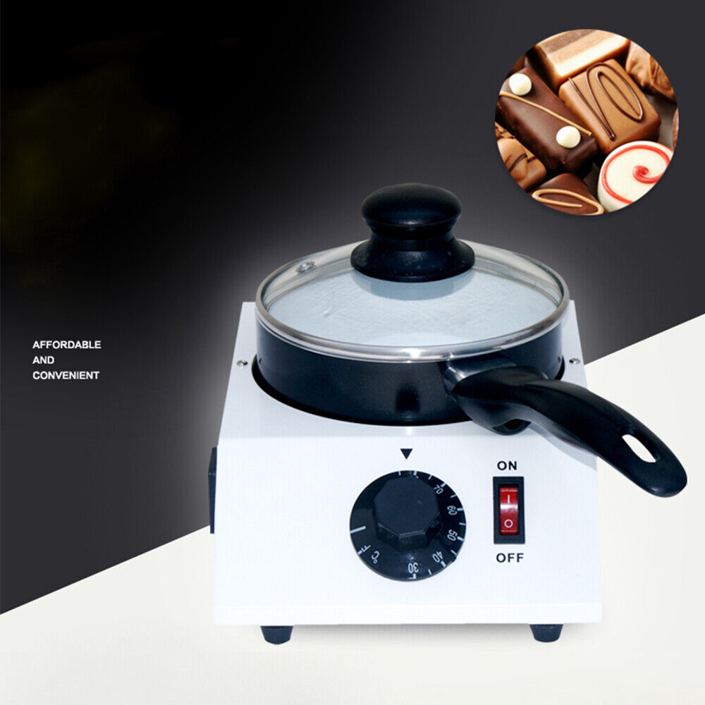 Electric Chocolate Melting Pot Melter Tempering Machine