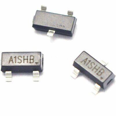 Usa Ship 100pcs Si2301 A1shb Sot-23 Mos P-channel Mosfet Transistor