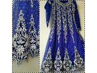 Indian pakistani Asian party wedding dress kameez churidar bollywood outfit anarkali