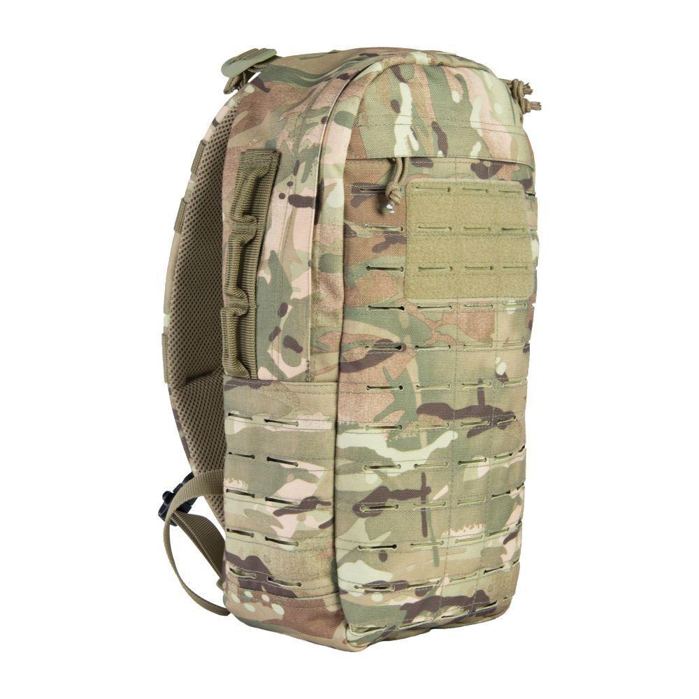 Highlander Armee Rucksack Sling Einzelgurt Camo Militär Tarn Cobra 15 L HMTC