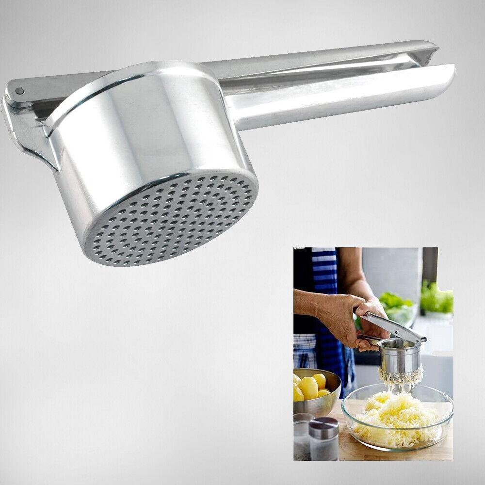 SchiacciaPatate a Pressione In Acciaio alluminio Per Aiuto Cucina Preparazione