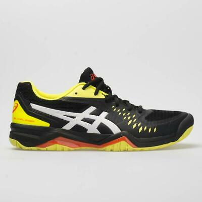 Asics Gel Challenger (Asics GEL-CHALLENGER 12 Men's 1041A045.015 BLACK/SOUR YUZU Tennis Shoes )