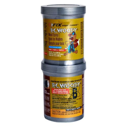 PC-Woody Tan Two Part Wood Epoxy Paste 12 oz