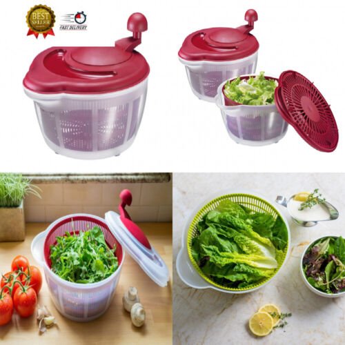 germany vegetable and salad spinner with pouring