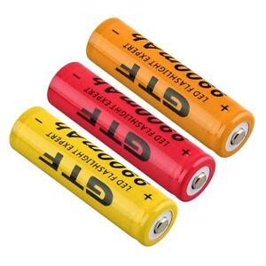 4pcs-18650-3-7V-9900mAh-Rechargeable-Li-ion-Battery-EU-Plug-Charger-New-IT