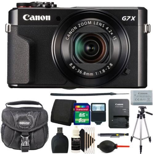 Canon G7X Mark II PowerShot 20.1MP Digital Camera + Deluxe