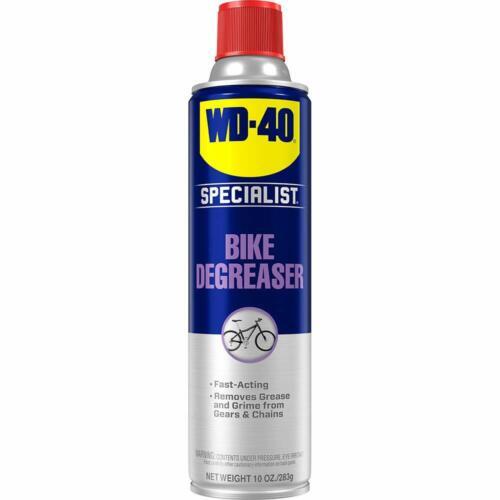 WD-40 BIKE Chain Cleaner & Degreaser Fast-Penetrating Bike Chain Cleaner 10 oz