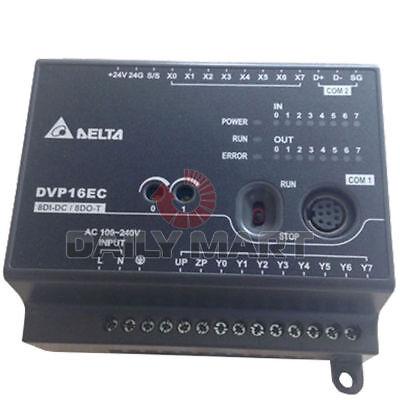 New In Box Delta Dvp16ec00t3 Plc Module Ec3 Series 8di 8do Npn Transistor