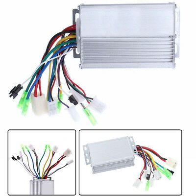 Us 36v48v 350w Electric Bicycle E Bike Brushless Dc Motor Speed Controller Fast