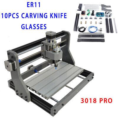 3 Axis Cnc Mini Laser Engraving Machine Pcb Wood Carving Grbl 500mw Laser Head