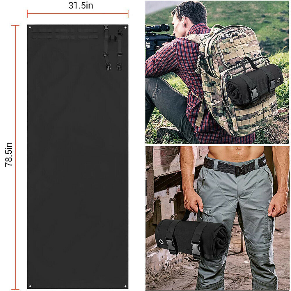 Shooting Mat for Range Tactical Roll-Up Non-Slip Durable Shooting Training Rest Hunting
