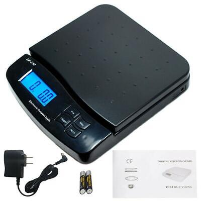 66lb X 0.1oz Digital Postal Shipping Scale Weight Postage Counting 30kg Adapter