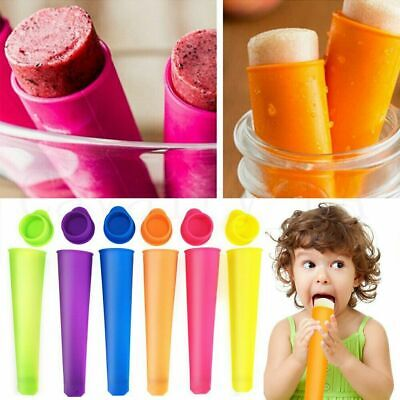 Silicone Push Up Frozen Stick Ice Cream Pop Yogurt Jelly Lolly Maker Mould Tools