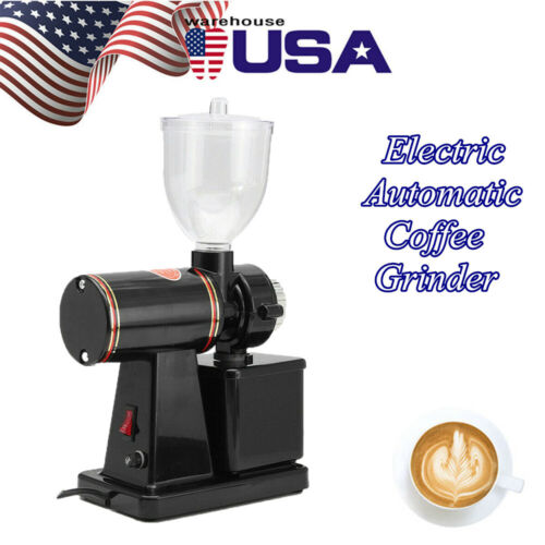 Commercial Coffee Grinder Electric Automatic Burr Mill Espre