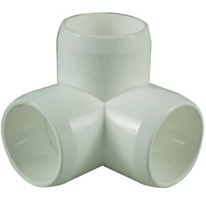 3 Way 25mm PVC Pipe, Cage Fittings, & Connectors for Furniture & Projects